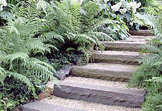 Jaké schody do zahrady?