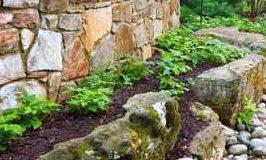 Předěly a cesty v zahradě